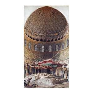Holy Rock, Summit Of Mount Moriah, Jerusalem Giclee