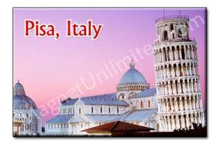 Leaning Tower Of Pisa   ITALY Souvenir Fridge Magnet