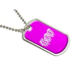 BFF   Best Friends Forever Pink   Military Dog Tag Luggage