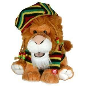 Bob Snarley Animated Plush Jungle Lion Moves & Sings Hot Hot Hot Song