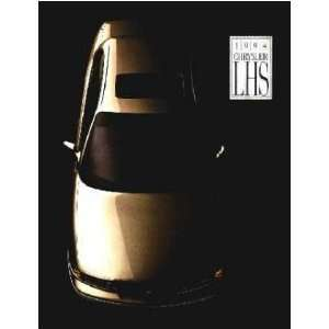 1994 CHRYSLER LHS Sales Brochure Literature Book Piece