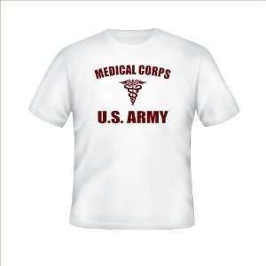 WWII U.S. Army Medical PT Shirt Reproduction, size XL