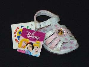DISNEY PRINCESS Infant Toddlers Sandals Shoes NWT $22