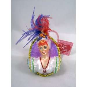 I LOVE LUCY Lucille Ball Carmen Polonaise Ornament NEW