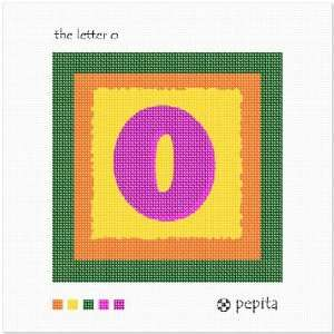 The Letter O Needlepoint Canvas Arts, Crafts & Sewing