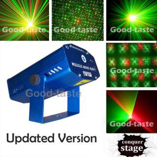 Blue Mini Laser Party light Public DJ Store Band Club Bar Wedding