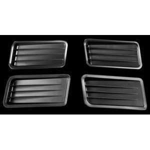 1967 Mustang Quarter Panel Ornaments, 4 pieces