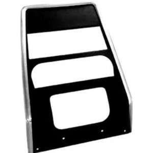 Chevy Camaro, Pontiac Firebird Center Dash Panel   w/o AC, Black 67 68
