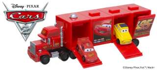 Disney Pixar Cars 2 Hyper Mack Truck Completed Set 5pcs