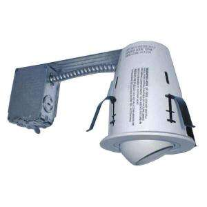 Commercial Electric 4 In. Non IC Remodel Recessed Lighting Kit (K17
