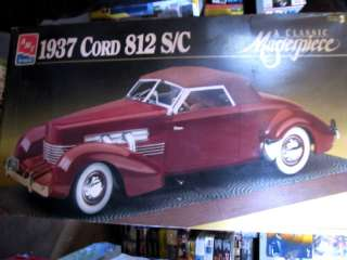 AMT CORD 812 SC CONVERTIBLE MODEL COUPE 1/12