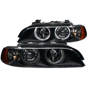 Anzo USA 121017 BMW Black Clear Projectors with Headlight Assembly