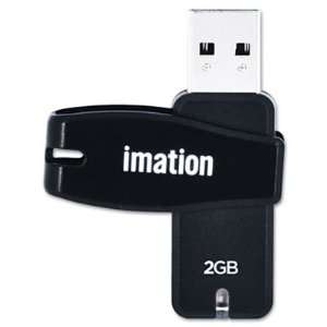 Quality Product By Imation   Swivel Flash Drive USB 2.0 2GB Password