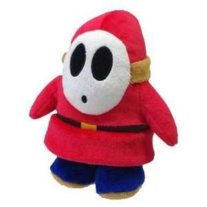 5 Official Sanei Shy Guy Soft Stuffed Plush Super Mario