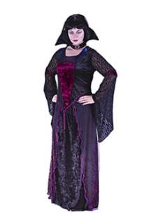 Plus Size Vamptessa  Cheap Gothic/Vampire Halloween Costume for Plus