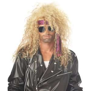 Heavy Metal Rocker Adult Wig (Blonde), 61179