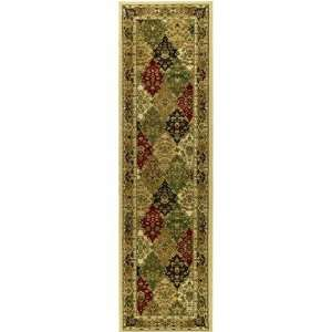 Multicolor Area Runner, 2 Feet 3 Inch by 16 Feet