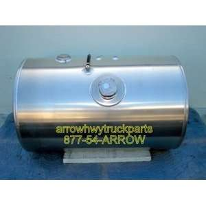 Kenworth Aluminum Fuel Tank 75 gallon, 24.5? diameter, 39? length