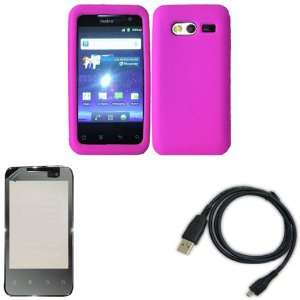 iFase Brand Huawei Activa M920 Combo Solid Hot Pink