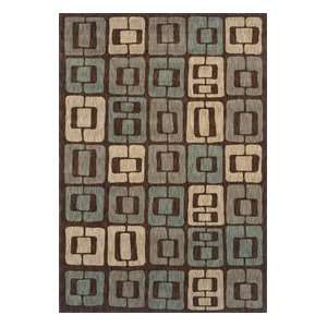 Angela Adams Munjoy Dark Brown 08710 5 2 X 7 9 Area Rug Home
