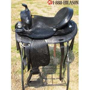 Hilason Treeless Western Barrel Racing Pleasure Trail Riding Saddle