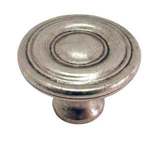 Belwith Keeler Conquest Collection 1 3/16 Cabinet Knob Lustre Brass