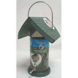 Go Green Mixed Seed Tube Bird Feeder, 12 Green Patio