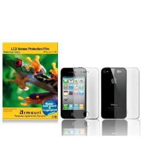 Fingerprint Screen Protector   Front & Back Cell Phones & Accessories