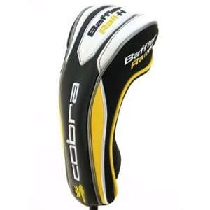 Cobra Baffler Rail H Hybrid Headcover White/Black/Yellow Rescue Golf