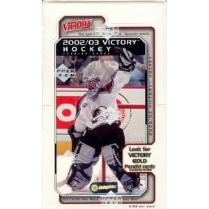 2002/03 Upper Deck Victory Hockey Box Sports Collectibles