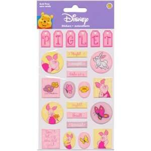 Sandylion Disney Piglet Epoxy Stickers Arts, Crafts