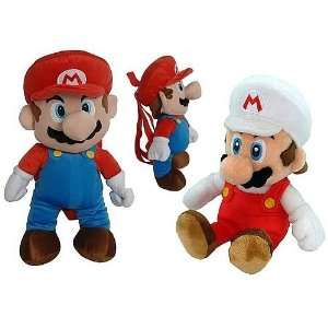 Nintendo Super Mario Bros. Mario Plush Backpack Case Toys & Games
