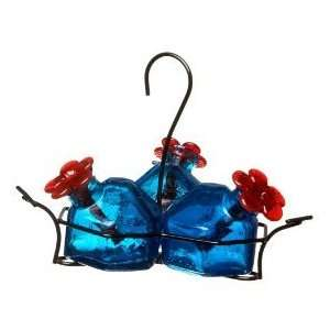 Par A Sol Bouquet Classic Bird Feeder   Aquamarine   3