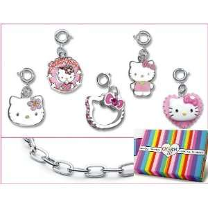 Licensed © Sanrio Hello Kitty Classic Charms & Bracelet