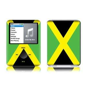Jamaican Flag Design Protective Decal Skin Sticker for