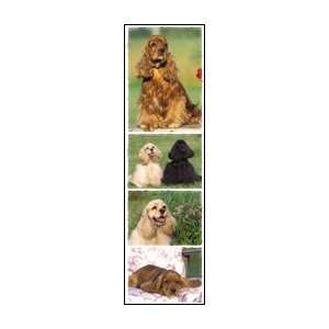 Cocker Spaniel Dog Scrapbook Stickers (31034) Arts, Crafts & Sewing