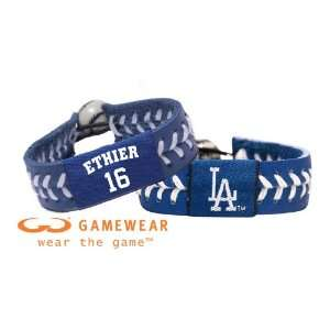 Los Angeles Dodgers Team Color Jersey Bracelet and Los Angeles Dodgers