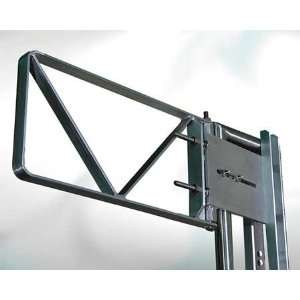 FABENCO A82 24 Adj Safety Gate,Aluminum,25 27 1/2 In