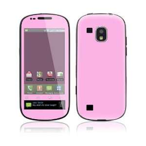 Simply Pink Decorative Skin Cover Decal Sticker for Samsung Continuum