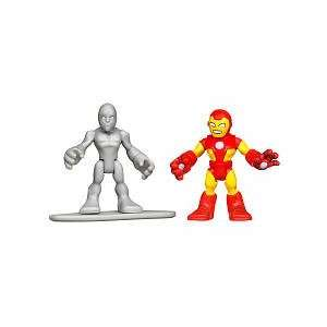 Marvel Super Hero Adventures Mini Figure 2Pack Iron Man