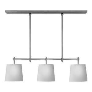 TOB5004PN NP Thomas Obrien 3 Light Billiard Lights in Polished Nickel