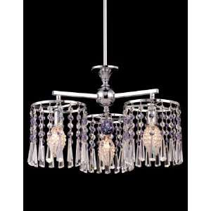 Dale Tiffany Paddington 3 Light Single Tier Chandelier