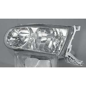 2001 02 TOYOTA COROLLA HEADLIGHT ASSEMBLY, DRIVER SIDE   DOT Certified