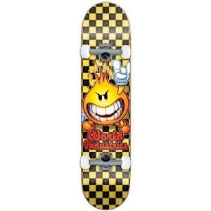 World Industries Checker Flameboy Complete Skateboard   7