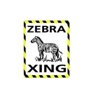 ZEBRA Crossing   Window Bumper Laptop Sticker