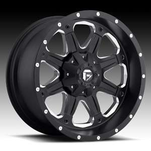 Offroad BOOST 18 inch Wheels & TIRES Chevy FORD Dodge TRUCK Black RIMS