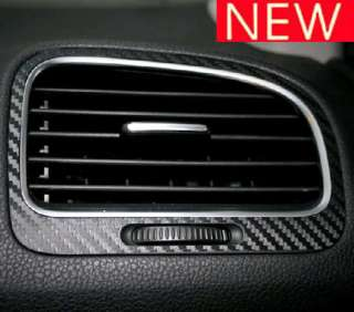 pack 5 pcs vw golf 6 gti air conditioner vent center dash console