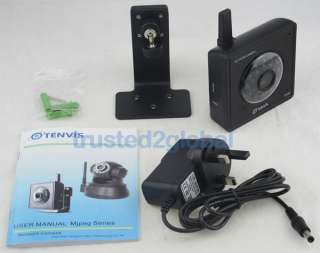 Tenvis Wireless WIFI IP Network Security CCTV Camera Mini