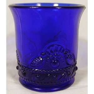 Glass Colorado Cobalt Blue Glass Toothpick Holder