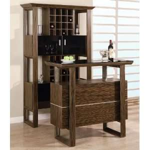 Global Furniture Wine Cabinet and Bar Table Set